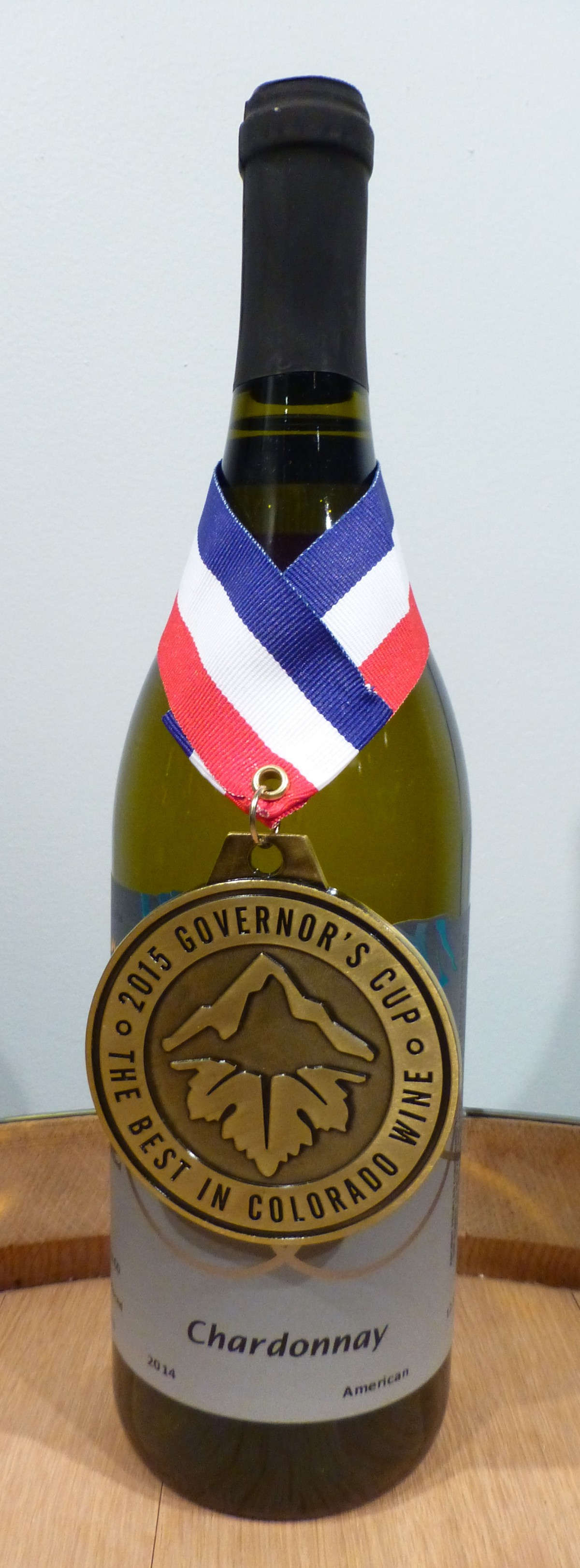 Chardonnay 2015 Governors Cup winner