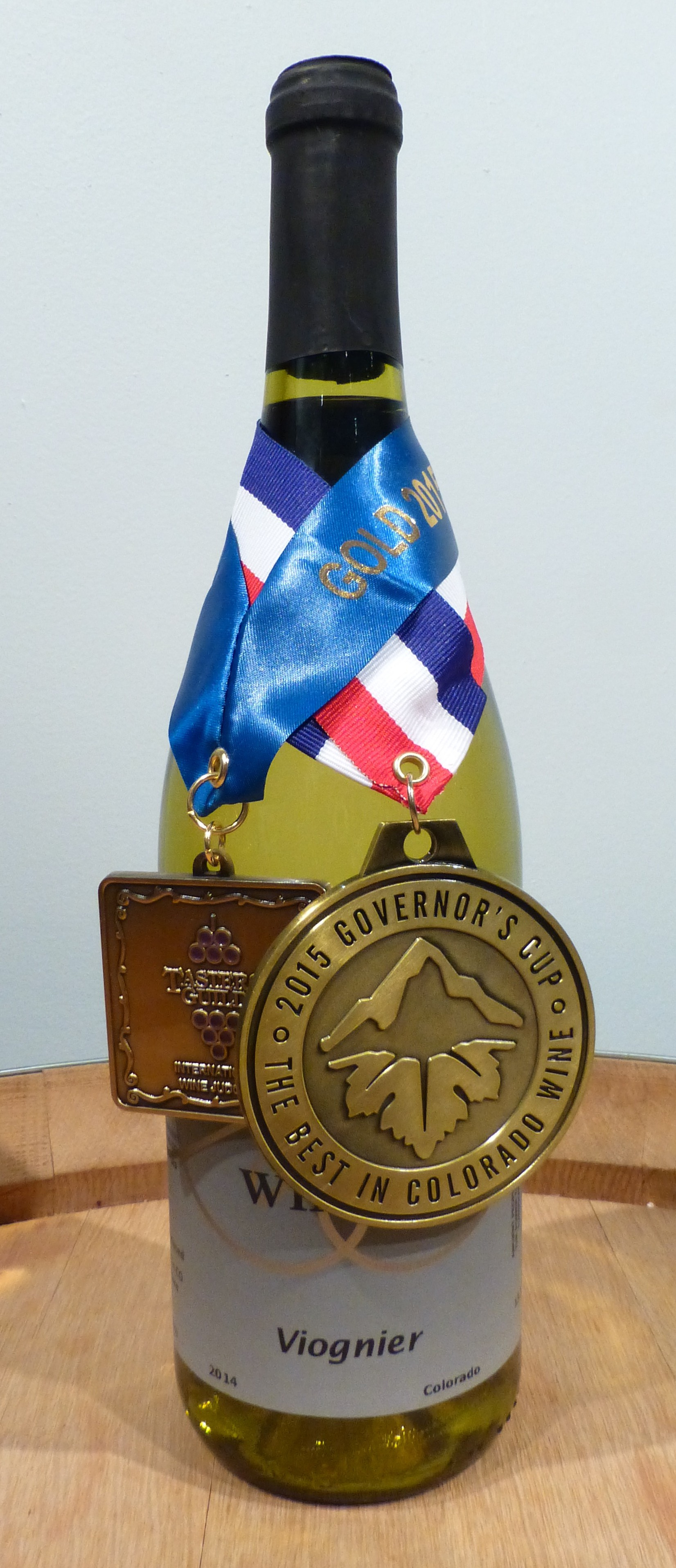 Viognier 2015 Governors Cup winner