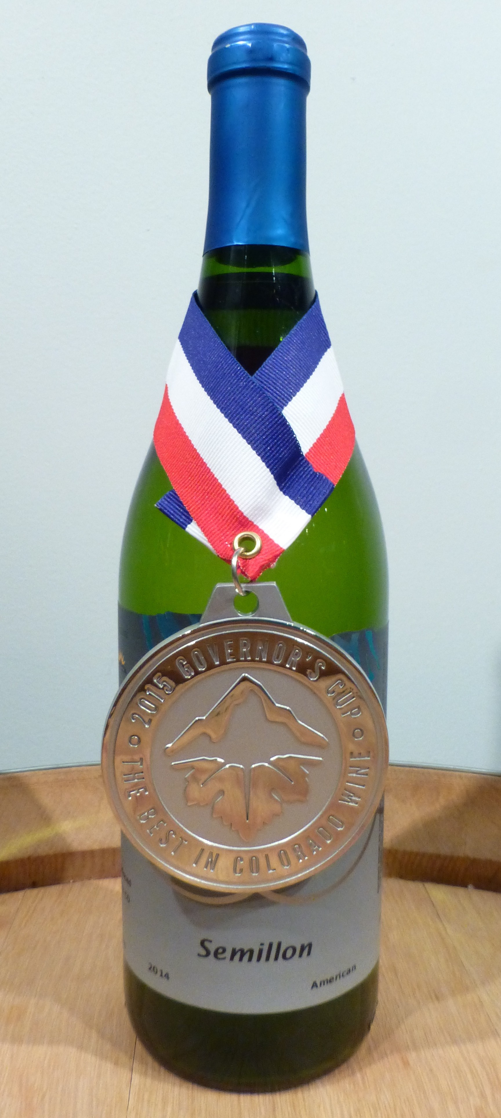 Semillon 2015 Governors Cup winner